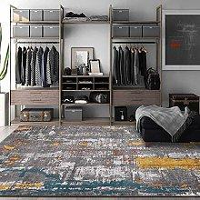 Modern Area Rug Designer Carpet Golden dark gray