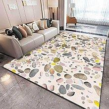 Modern Area Rug Designer Carpet Pink stone modern