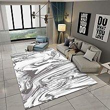 Modern Area Rug Designer Carpet Sea water gray and