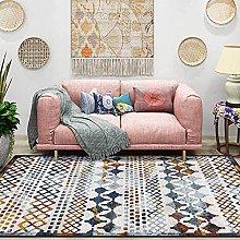 Modern Area Rug Living Room Large Carpet Blue and