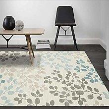 Modern Area Rug Living Room Large Carpet Blue-gray