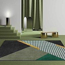 Modern Area Rug Living Room Large Carpet Emerald