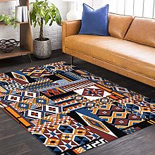 Modern Area Rug Living Room Large Carpet Retro