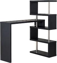 Modern Bar Counter Beverage Table Storage Display