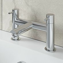Modern Bathroom Bath Filler Mixer Tap Brass Deck