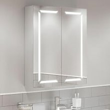 Modern Bathroom Cabinet/LED Mirror Wall Hung