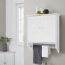 Modern Bathroom Cabinet Storage Wooden Shelves