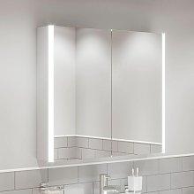 Modern Bathroom Mirror Cabinet LED Illuminated