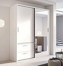 Modern Bedroom Mirror Sliding Door Wardrobe ARTI