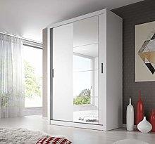 Modern Bedroom Mirror Sliding Door Wardrobe Arti 4