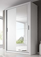 Modern Bedroom Mirror Sliding Door Wardrobe Arti 6