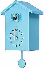 Modern Bird Cuckoo Quartz Wall Clock Home Living