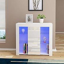 Modern Cabinet Cupboard Unit With RBG LED High
