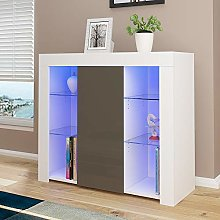 Modern CabinetCupboard Unit With RBG LED High