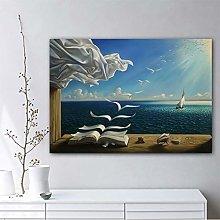 Modern Canvas Painting Salvador Dali Art Print