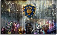 Modern Canvas Painting World of Warcrafts Wow