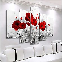 Modern Canvas PaintingCombined Flowers Posters