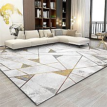 Modern Carpet, Old Triangle Line Cement Gray Rug,