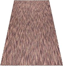 Modern carpet SISAL FISY 20975A purple / pink