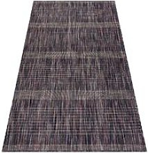 Modern carpet SISAL FISY Stripes 20777A brown /