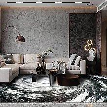 Modern Carpet, Typhoon Eye Whirlpool Gray Rug, for