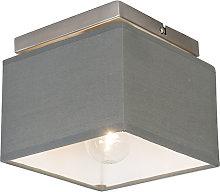 Modern ceiling lamp gray - VT 1