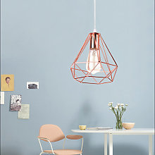 Modern Ceiling Lamp Rose Gold Contemporary