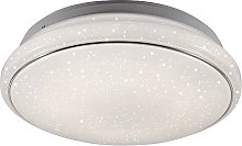 Modern Ceiling Lamp White 3 in 1 incl. LED - Mars