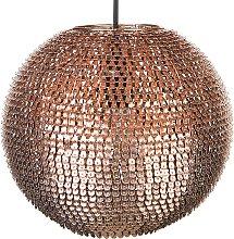 Modern Ceiling Pendant Lamp Sphere Shade Iron