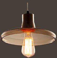 Modern Ceiling Pendant Light Shade Glass, E27 Base