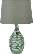 Modern Ceramic Base Bedside Lamp Table Light Green