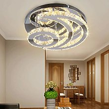 Modern Chandeliers Crystal, Moon Flush Mount LED