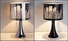 Modern Contemporary Illuminate Night-Time City