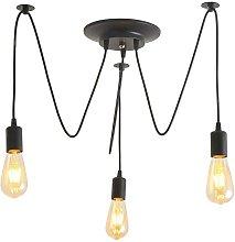 Modern creative pendant light, retro industrial