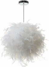 Modern creativity feather pendant light, E27