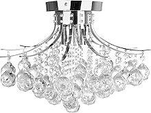 Modern Crystal Ceiling Light Chandelier for Living