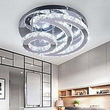 Modern Crystal Chandelier, LED Moon Crystal