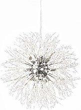 Modern Crystal Chandeliers Firework Ceiling Light