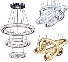 Modern Crystal Chandeliers Fixtures LED Ceiling