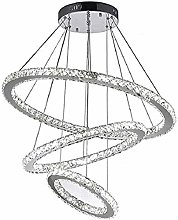 Modern Crystal LED Chandelier Ceiling Fixture