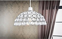 Modern Crystal Vienna Dome Pendant Shade Ceiling