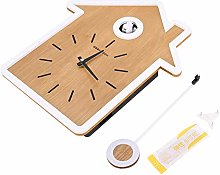 Modern Cuckoo Clock, ABS Report Clock, Battery