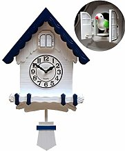 Modern Cucu Wall Clock Striking Small Cute Bird,