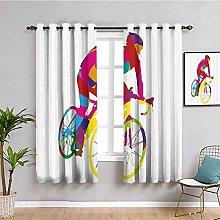 Modern Decor Room Darkened Heat Insulation Curtain