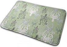 Modern Decor Rug Non Slip Carpet Washable Fluffy