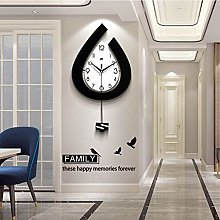 Modern Decorative Pendulum Wall Clock, Stylish