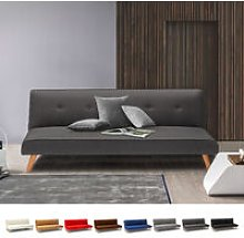 Modern Design Fabric Couch 2 Seater Sofa Bed for