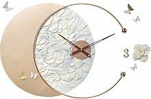 Modern Design Large Silent Creative Wall Clock