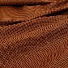 Modern Designer Houndstooth Pattern Faux Leather
