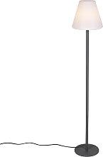 Modern exterior floor lamp dark gray - Virginia